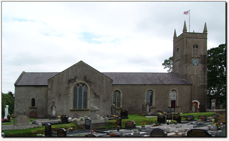 Photograph of Mullavilly Parish Church, Tandragee, Co. Armagh, Northern Ireland, U.K.